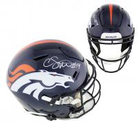 Courtland Sutton Signed Broncos Full-Size Authentic On-Field SpeedFlex Helmet (Radtke COA) at PristineAuction.com