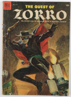 "Vintage 1955 ""The Quest of Zorro"" Issue #617 Dell Comic Book (See Description) at PristineAuction.com"