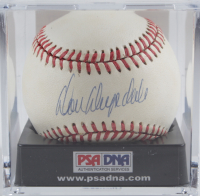 Don Drysdale Signed ONL Baseball with Display Case (PSA COA) (See Description) at PristineAuction.com