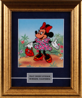 "1987 Walt Disney's ""Minnie Mouse"" 11x13 Custom Framed Animation Serigraph Cel at PristineAuction.com"