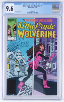 "1984 ""Kitty Pryde & Wolverine"" Issue #1 Marvel Comic Book (CGC 9.6) at PristineAuction.com"
