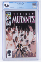 "1985 ""New Mutants"" Issue #28 Marvel Comic Book (CGC 9.6) at PristineAuction.com"