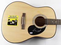"Lou Reed Signed Velvet Underground 39.5"" Acoustic Guitar (PSA COA) (See Description) at PristineAuction.com"