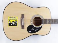 "Lou Reed Signed Velvet Underground 39.5"" Acoustic Guitar (PSA COA) (See Description) at PristineAuction.com"