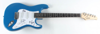 """Peter Buck, Mike Mills & Bill Berry Signed 39.5"""" Electric Guitar (Beckett LOA) (See Description) at PristineAuction.com"""