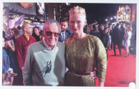 Stan Lee Signed 11x17 Photo (Stan Lee COA) at PristineAuction.com
