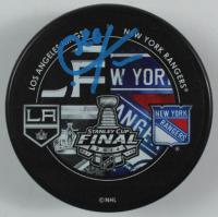 Chris Kreider Signed 2014 Stanley Cup Playoffs Logo Hockey Puck (Kreider COA) at PristineAuction.com