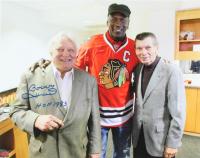 "Bobby Hull Signed Blackhawks 16x20 Photo Inscribed ""HOF 1983"" (Hull COA) at PristineAuction.com"