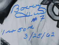 "Bobby Hull Signed Blackhawks 16x20 Photo Inscribed ""1st 50th 3/25/62"" (Hull COA) at PristineAuction.com"