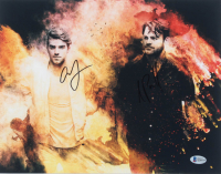 Andrew Taggart & Alex Pall Signed 11x14 Photo (Beckett COA) at PristineAuction.com