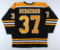 Patrice Bergeron Signed Jersey (Bergeron COA) (See Description) at PristineAuction.com