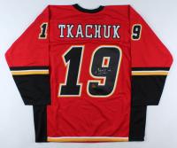 Matthew Tkachuk Signed Jersey (Tkachuk COA) at PristineAuction.com