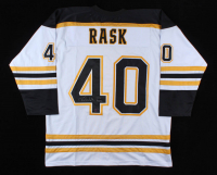 "Tuukka Rask Signed Jersey Inscribed ""2014 Vezina"" (Rask COA) (See Description) at PristineAuction.com"