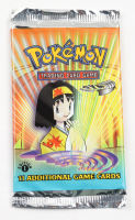 Pokemon Base Set Gym Heroes First Edition Booster Pack with (11) Cards at PristineAuction.com