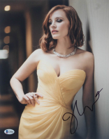 Jessica Chastain Signed 11x14 Photo (Beckett COA) at PristineAuction.com