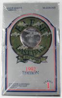 1992 Leaf Series 1 Baseball Set of (36) Card Packs at PristineAuction.com