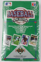 1990 Edition Upper Deck Baseball Unopened Box of (36) Packs at PristineAuction.com