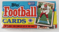 1989 Topps Complete Set of (396) Football Cards at PristineAuction.com
