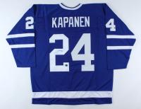 Kasperi Kapanen Signed Jersey (Kapanen COA) at PristineAuction.com