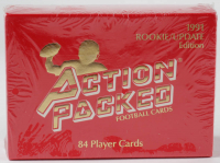 1991 Action Packed Rookie Update Complete Set of (84) Football Cards with #21 Brett Favre RC at PristineAuction.com