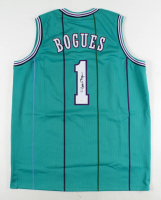 Muggsy Bogues Signed Jersey (JSA COA) at PristineAuction.com