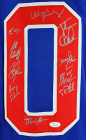 "1980 Team USA Hockey ""Miracle on Ice"" Jersey Signed by (19) with Mike Eruzione, Jim Craig, Ken Morrow, Buzz Schneider (JSA Hologram) at PristineAuction.com"