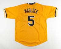 "Bill Madlock Signed Jersey Inscribed ""4x NL BC 75, 76, 81, 83"" (JSA COA) at PristineAuction.com"