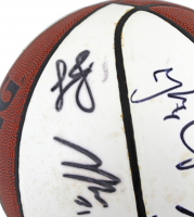 2011 Heat Family Festival Basketball Signed by (15) with LeBron James, Dwyane Wade, Shane Battier, Juwan Howard (JSA LOA) (See Description) at PristineAuction.com