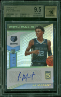 Ja Morant 2019-20 Elite Pen Pals #17 (BGS 9.5) at PristineAuction.com