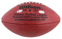 Joe Montana & Jerry Rice Signed Super Bowl XXIV Logo Official NFL Football (JSA COA & Beckett COA) at PristineAuction.com