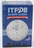 Dodgers 60th Anniversary Edition ITFDB Alarm Clock at PristineAuction.com