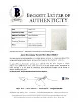 Abner Doubleday Signed 5x7 1861 Hand-Written Civil War Era Letter (Beckett LOA) at PristineAuction.com