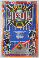 1992 Upper Deck Baseball Cards Low Series Unopened Box with (36) Packs (See Description) at PristineAuction.com