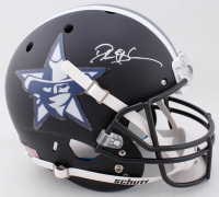 Deion Sanders Signed Full-Size Authentic On-Field Matte Black Helmet (JSA COA) at PristineAuction.com