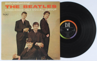 """The Beatles """"Introducing The Beatles"""" Vinyl Record Album at PristineAuction.com"""