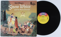 "Vintage 1968 Walt Disney ""Snow White and the Seven Dwarfs"" Vinyl Record Album at PristineAuction.com"
