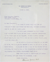 Alexander Graham Bell Signed 30.5x34.5 Custom Framed Letter Display (Beckett LOA) at PristineAuction.com