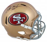 Deion Sanders Signed 49ers Full-Size Speed Helmet (Beckett COA) at PristineAuction.com