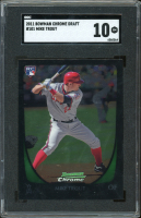 Mike Trout 2011 Bowman Chrome Draft #101 RC (SGC 10) at PristineAuction.com