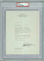 Bela Lugosi Signed 1931 Letter (PSA Encapsulated & PSA LOA) at PristineAuction.com