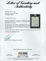 Bela Lugosi Signed 1931 Letter (PSA Encapsulated & PSA LOA) at PristineAuction.com
