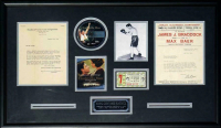 James Braddock & Max Baer Signed 22.5x37.5 Custom Framed Letter Display (PSA LOA & PSA COA) at PristineAuction.com