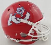Derek Carr Signed Fresno State Bulldogs Full-Size Helmet (Beckett COA) at PristineAuction.com