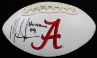 "Mark Ingram Signed Alabama Crimson Tide Logo Football Inscribed ""Heisman 09"" (Beckett COA) at PristineAuction.com"