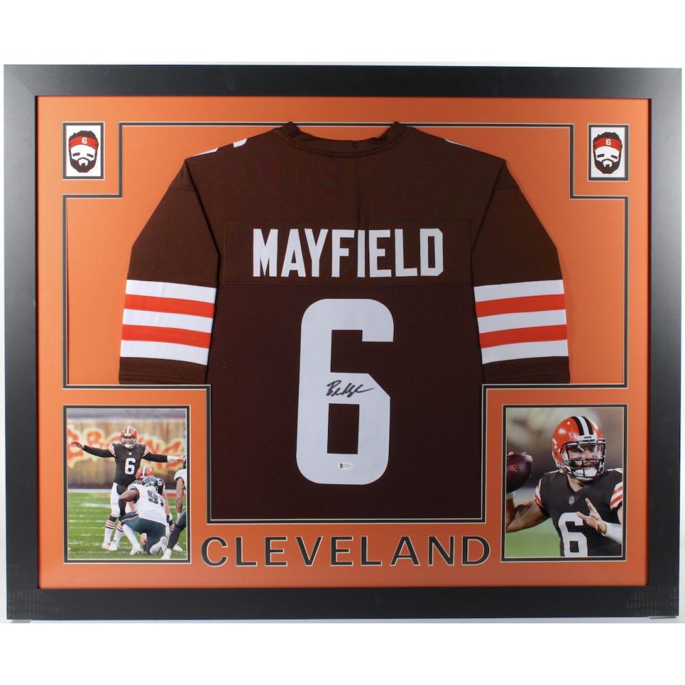 baker mayfield autograph jersey