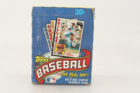 1984 Topps Baseball Wax Box with (36) Packs at PristineAuction.com