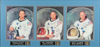 "Neil Armstrong, Michael Collins & Edwin ""Buzz"" Aldrin Signed 28.5x31 Apollo 11 Custom Framed Photo Display With Multiple Inscriptions (Beckett LOA) at PristineAuction.com"