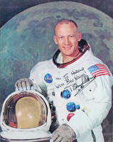 """Neil Armstrong, Michael Collins & Edwin """"Buzz"""" Aldrin Signed 28.5x31 Apollo 11 Custom Framed Photo Display With Multiple Inscriptions (Beckett LOA) at PristineAuction.com"""