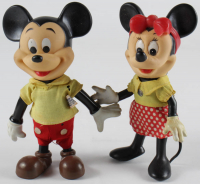 Set of (2) Vintage Mickey & Minnie Mouse Figures (See Description) at PristineAuction.com