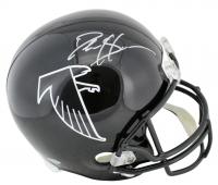 Deion Sanders Signed Falcons Throwback Full-Size Helmet (Beckett COA) at PristineAuction.com